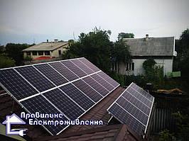 Мережева сонячна електростанція 30 кВт м. Рава-Руська