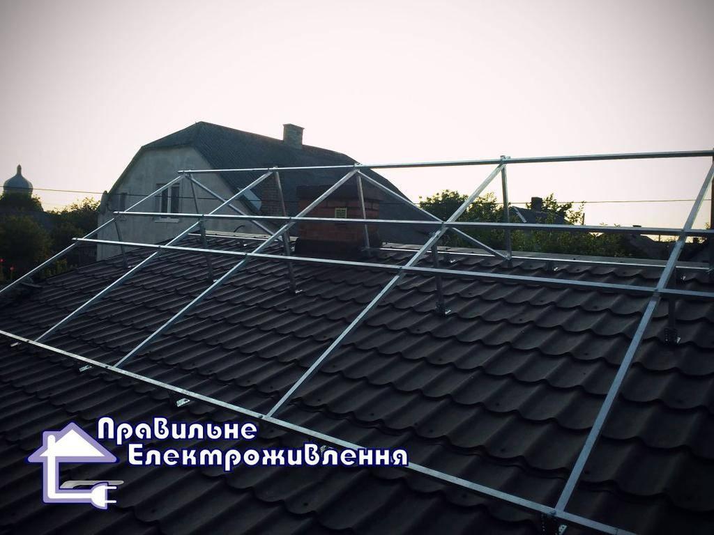 Мережева сонячна електростанція 20 кВт м. Рава-Руська 3