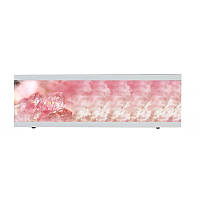 Экран под ванную  I-screen light Розовый лед