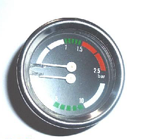 Манометр для кофеварки на две шкалы 60 мм