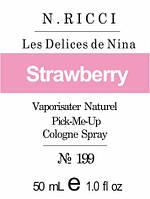 Парфюмерное масло «Les Delices de Nina Nina Ricci»