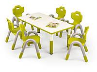 Столик Samba prostokat zielony