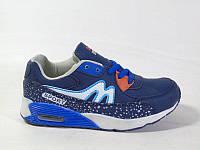 Осенние кроссовки для мальчиков синие 32,33р., фото 1