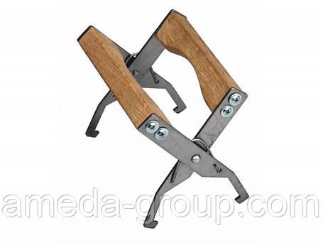 Захват для рамок (оцинковка/дерево), фото 2