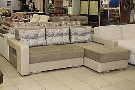Угловой диван 16-1-6-19 с нишей для белья