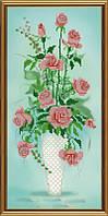 Амфора. Букет роз