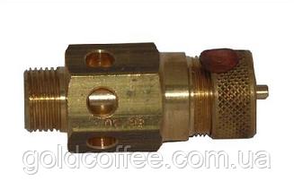 Сертифікований аварійний клапан для кавоварки