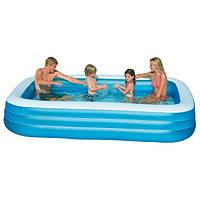 Надувной семейный бассейн Интекс 58484 (305*183*56см)