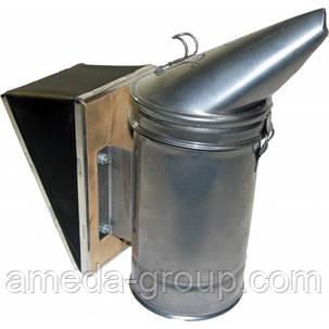 Дымарь пасечный из оцинкованной стали съемный мех, фото 2
