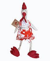 Декоративная игрушка Петушок Праздничный 43 см