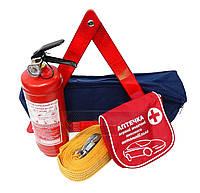 Набор автомобилиста  АВТОКАР™ ❝Один за всех❞,  сумка набор первой помощи