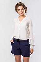 Классические женские темно-синие шорты короткие