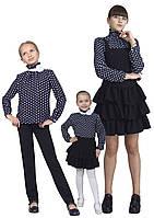 Блузка детская для девочек М-1074 рост 122-152, фото 1