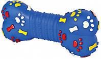 Кость Trixie Bone для собак виниловая, с пищалкой, 15 см, фото 1