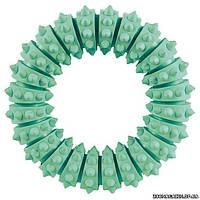 Trixie Кольцо с мятой резиновое с шипами, 12 cм.