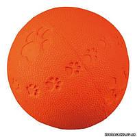 Trixie Toy Ball Мяч с пищалкой игрушка для собак с рисунком, ø 9 см.
