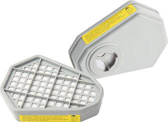 Фильтр к ( Маска защитная респиратор миол 91-121 ) 91-136 фільтр 2шт.