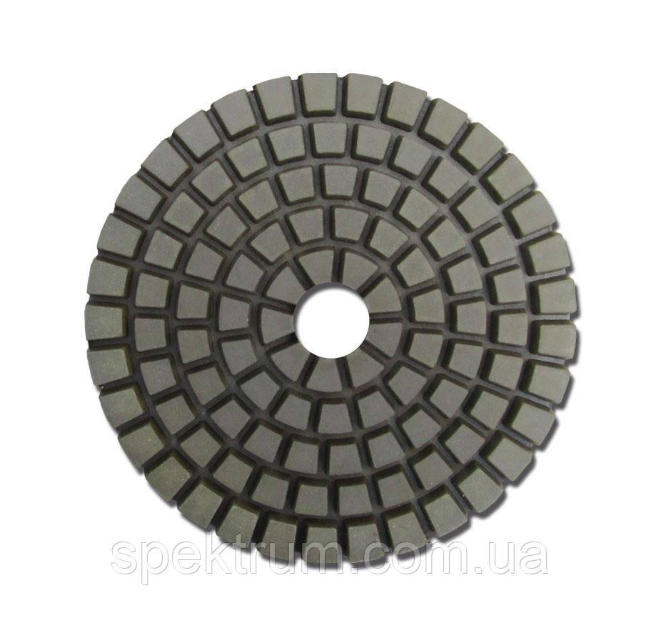 Круг шліфувальний гнучкий діаметр 100 мм h 4 мм №3000, алмазний