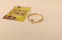 Золотое колечко с бриллиантом. Размер 18,5.