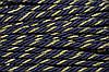 Канат декоративный 6мм (100м) т.синий+золото