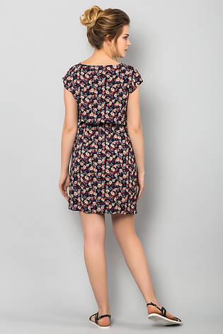 aa805603efd Легкое летнее женское платье с принтом Мелкие цветочки - купить по ...