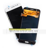 Дисплейний модуль (дисплей + сенсор) Samsung j5/j500 TFT high copy білий