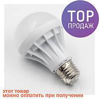 Светодиодная лампа LED LAMP E27 5W UKC / светодиодная лампочка