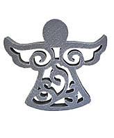 Декоративная игрушка Ангел винтаж дымка 15 см