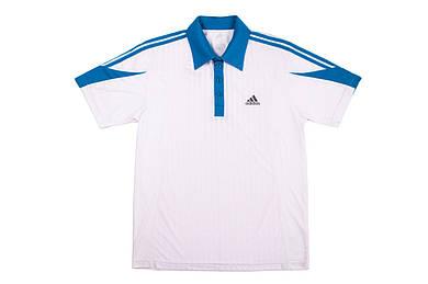 Футболка мужская Adidas Clima365 Whiteblue АКЦИЯ -30%