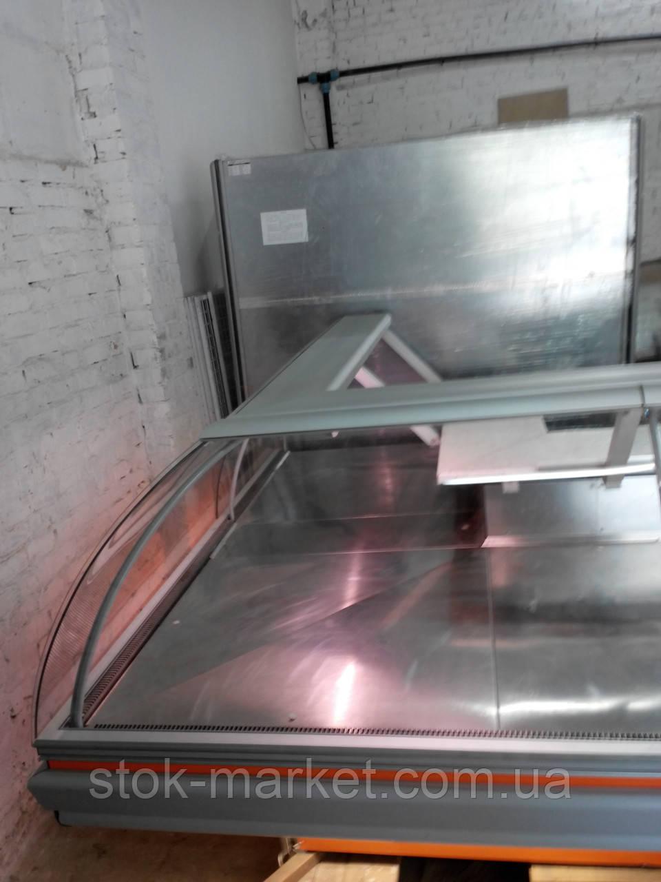 Холодильная витрина Detroit угловая секция