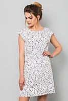 Легкое летнее женское платье с принтом Якорьки
