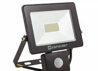 Led прожектор с датчиком движения Евросвет (20W 6400K IP65)