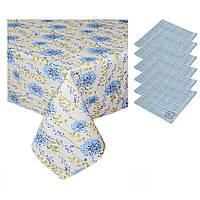 Набор подарочный Луговые цветы и голубая клетка ТМ Прованс by Andre Tan