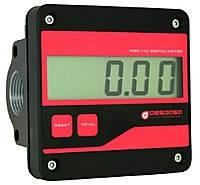 Счетчик электронный  MGE 110 для дизельного топлива, масла, 5-110 л/мин