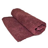 Полотенце махровое 70х140см коричневое