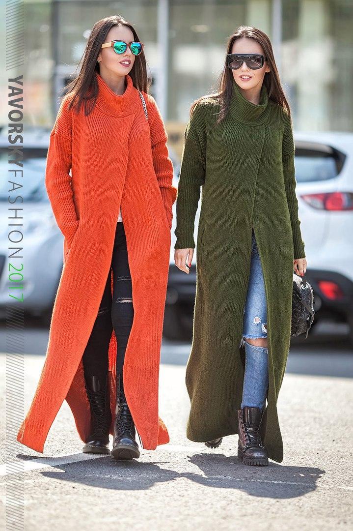 женское вязаное пальто кардиган макси в разных цветах цена 650 грн