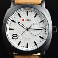 Мужские часы Curren Chronometer GMT 8  White V.1