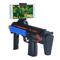 Беспроводной геймпад автомат для телефона AR Game Gun Gamepad Bluetooth. Блютуз пистолет для шутеров Android