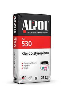 Клей для пінополістирола ALPOL 530 25кг