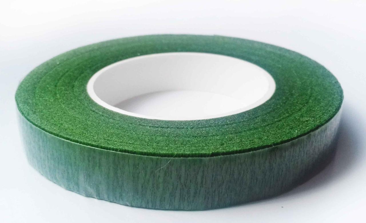 Тейп-лента (флористическая лента) зеленая