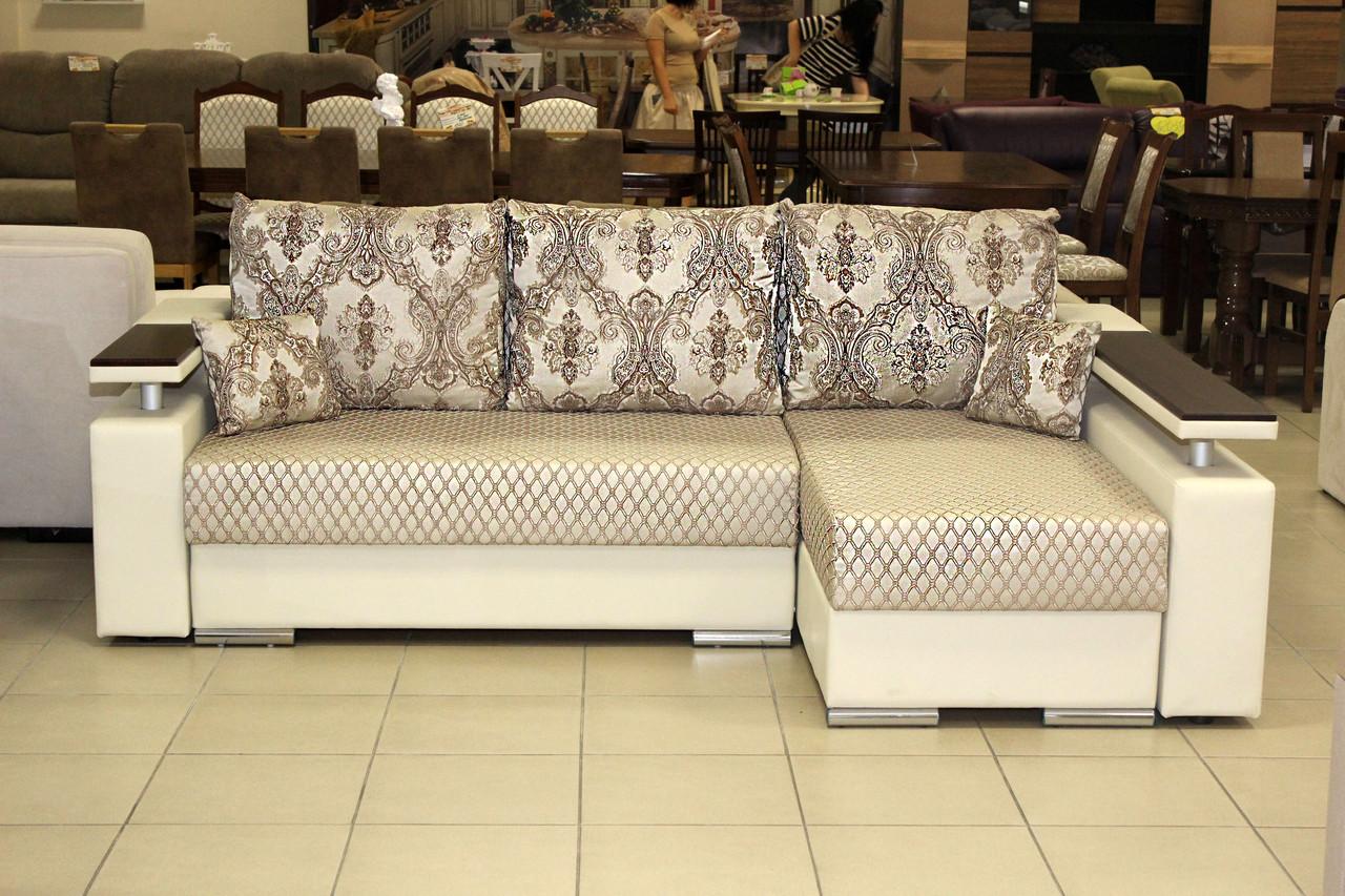Кутовий диван серії 14-1-6-10 в ексклюзивної тканини