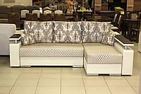 Кутовий диван серії 14-1-6-10 в ексклюзивної тканини, фото 1