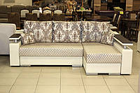 Угловой диван серии 14-1-6-10 в эксклюзивной ткани, фото 1