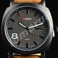 Мужские часы Curren Chronometer GMT 8  Black V.1