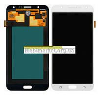 Модуль (сенсор+дисплей) Samsung J700F/DS Galaxy J7, J700H/DS Galaxy J7, J700M/DS Galaxy J7 AMOLEDбілий