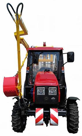 Навесное оборудование для очистки смотровых и дождевых колодцев МОК-188 на МТЗ-320.4, фото 2