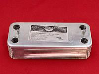 Пластинчатый теплообменник ГВС 28/32 кВт Zoom EXPERT and MASTER 18 пластин, фото 1