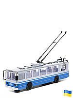 Модель Technopark Троллейбус Big со светом и звуком на украинском языке (SB-17-17WB)