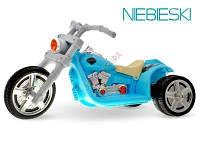 Детский аккумуляторный трехколесный мотоцикл