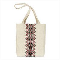 Подарочный набор для изготовления сумки с вышивкой ФМС-004. СУМКА-ВЫШИВАНКА